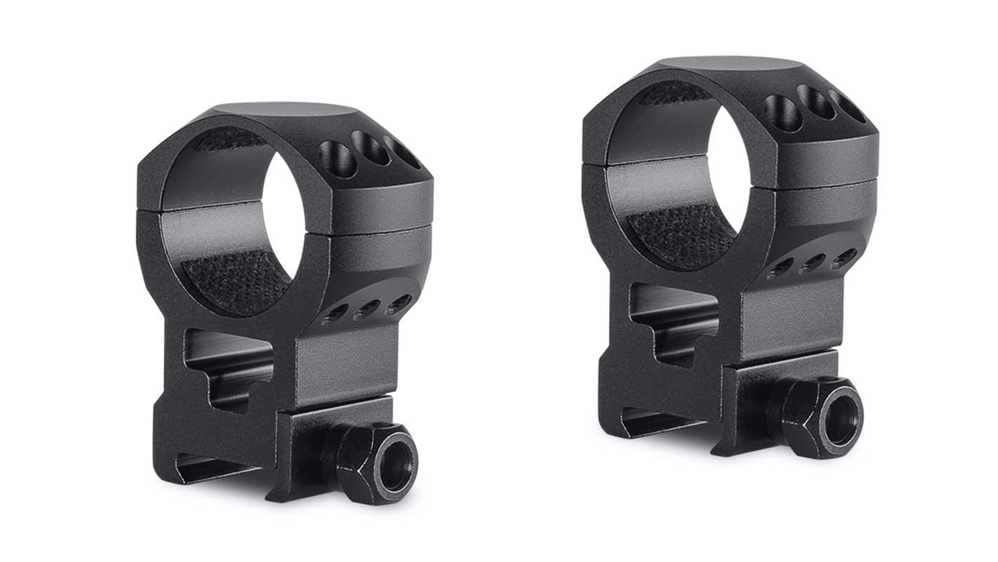 Tactical Ring Mounts 30mm 2 Piece  Weaver Extra High